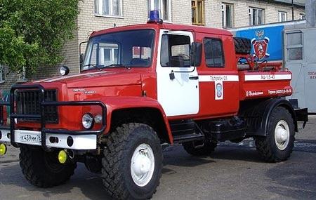 пожарный газ 3307