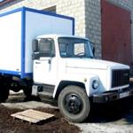 Фургоны на базе шасси ГАЗ-3307