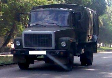 военный газ 3307