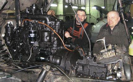 дизельный газ 66