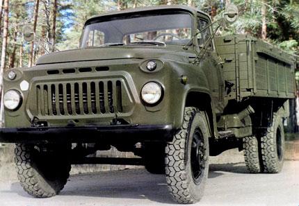 грузовик ГАЗ 53Н