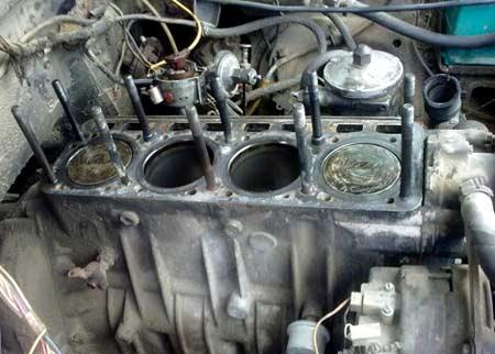 блок цилиндров двигателя ЗМЗ 4022.10