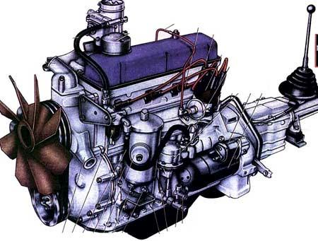 двигатель ЗМЗ 24Д