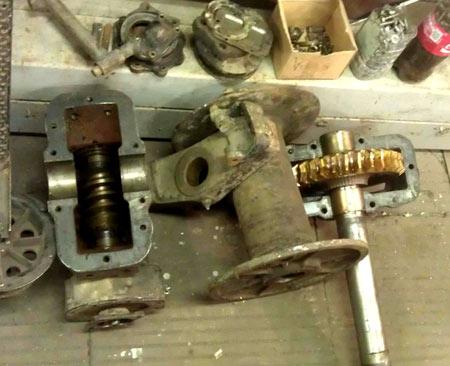 механическая лебедка ГАЗ 66