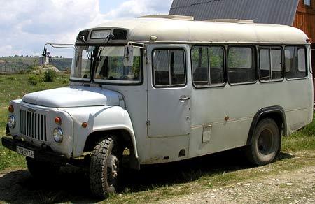 автобус газ 53