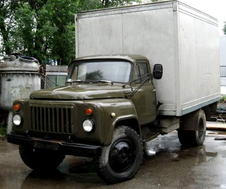 фургон газ 53