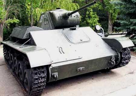 танк марки Т 70М