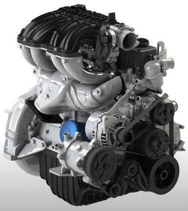 мотор газель