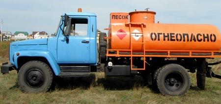 бензовоз ГАЗ 3307