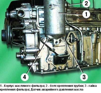 масляный фильтр ЗМЗ-402