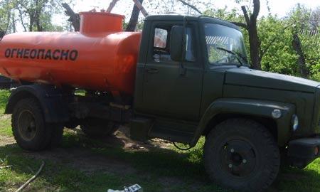 ГАЗ 3307 бензовоз