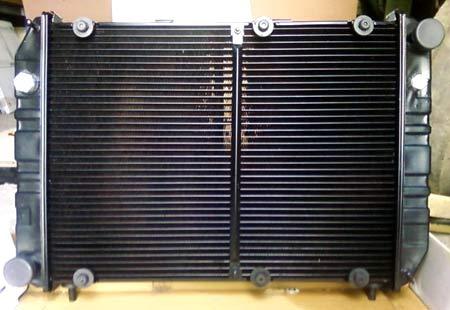 медно-латунный радиатор