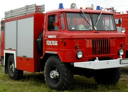 пожарка газ 66