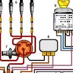 Схема электрооборудования ГАЗ-3110