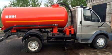 топливозаправщик ГАЗ  33106