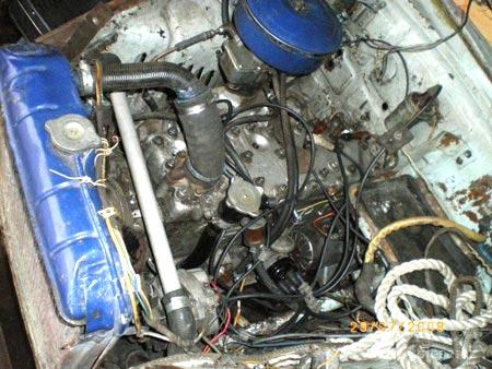 газ 52 двигатель