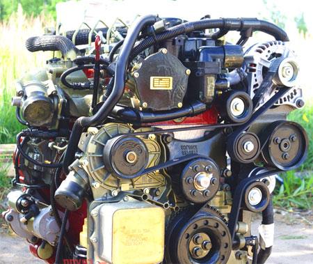 двигатель Cummins ISF