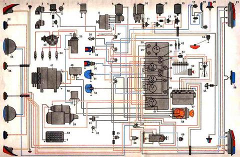 Схема газ 3309 дизель 132