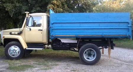 грузовик газ 4301