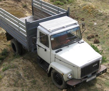 самосвал газ саз 3507