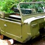 Установка и ремонта кузова грузового автомобиля ГАЗ-69