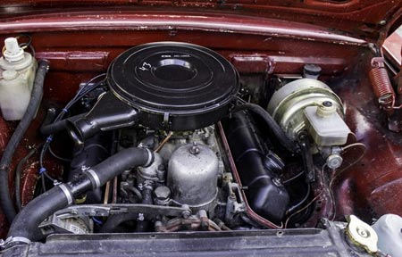 газ 24  двигатель v8