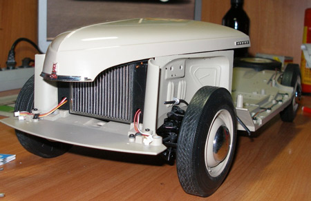 Сборка модели ГАЗ М20