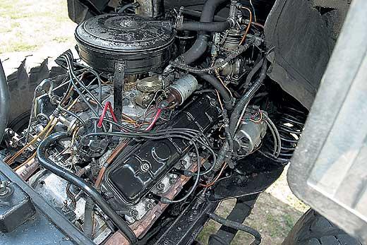 двигатель ГАЗ 66
