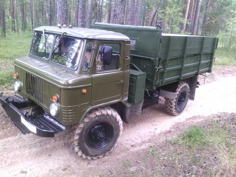 ГАЗ-66 самосвал