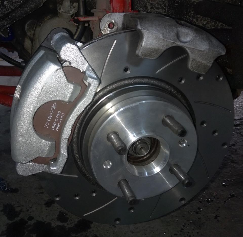 суппорт и тормозной диск