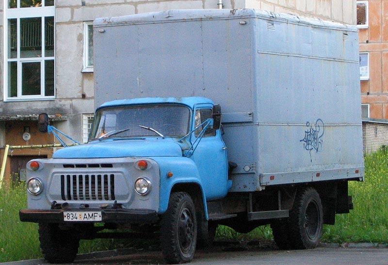 фургон газ 52
