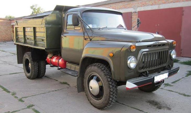 грузовик газ 52