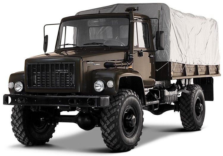 военный грузовик 33081
